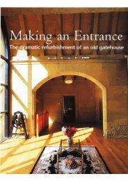 H&R Magazine Gatehouse Conversion - Julian Owen Architects
