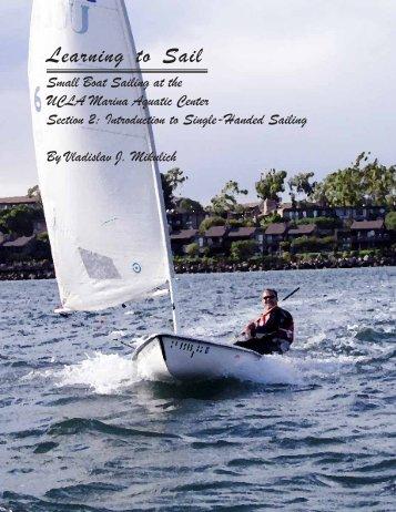 Learning to Sail - UCLA Marina Aquatic Center