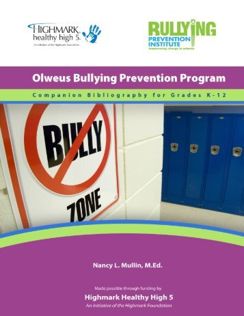 Download - Bullying Prevention Institute