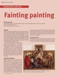 NEUROLOGY AND ART Fainting painting - Practical Neurology