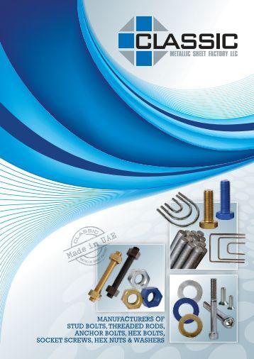 Detailed Brochure - Classic Metallic Sheet Factory LLC