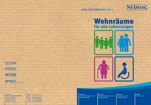 Geschäftsbericht 2011 - Stäwog m.b.H.