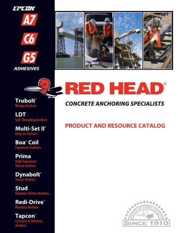 Red Head Product and Resource Catalog - Rhkeleher.com