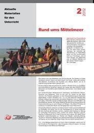 Rund ums Mittelmeer - Stiftung Bildung und Entwicklung