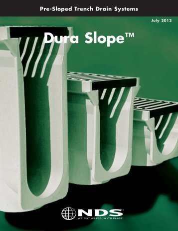 Dura Slope Catalog - NDS