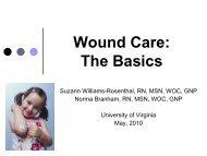 Wound Care: The Basics - Medicine - University of Virginia