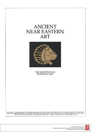 ANCIENT NEAR EASTERN - Metropolitan Museum of Art