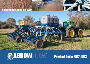 Agrowplow® Product Guide 2013 - Nepean
