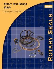Rotary Seal Design Guide in .pdf - Parker