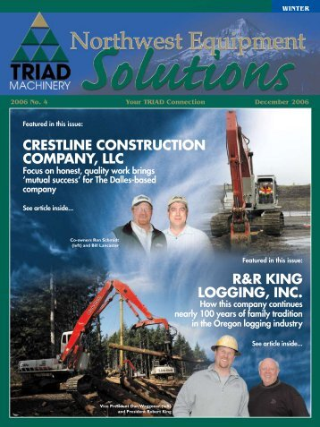 WINTER - Triad Northwest Euqipment Solutions