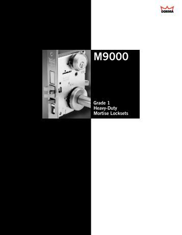 9000 9100 Series Mortise Locks Accurate Lock And Hardware