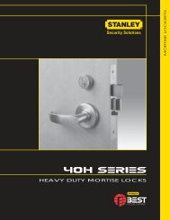HEAVY DUTY MORTISE LOCKS - Best Access Systems