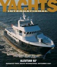 ALEUTIAN 92' - Citadel Yachts