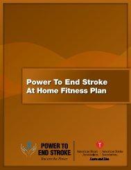 Download a PDF version - Power to End Stroke