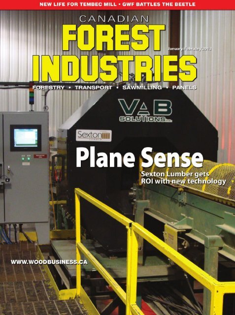 VAB-Solutions & Sexton Lumber on the next