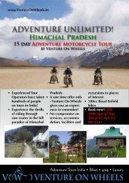 ADVENTURE UNLIMITED! - Venture On Wheels