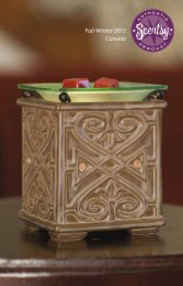 Fall/Winter 2012 Canada - Scentsy Independent Consultant