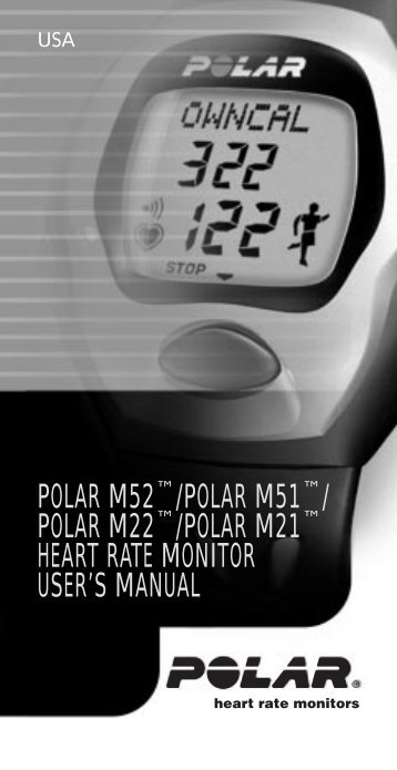M series manual USA - Polar