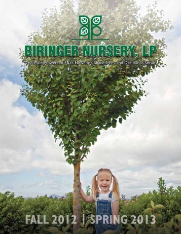 Catalog - Biringer Nursery