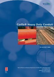 3. Corflo HD Conduit-17/5/02 - Vinidex