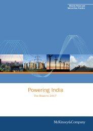 Powering India - McKinsey & Company