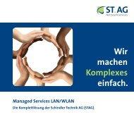 Wir machen Komplexes einfach. - Schindler Technik AG