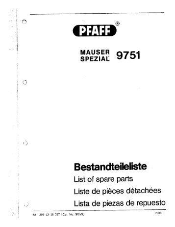 Mauser Spezial 9751.pdf - Sewingmachine.com