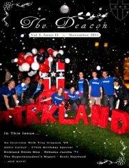Vol I Issue II - November 2011 - Kirkland House Website