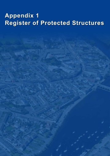 Appendix 1- Register of Protected Structures.pdf - Wicklow.ie