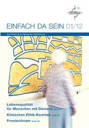 Ausgabe 01/2012 - St. Antonius Krankenhaus gGmbH