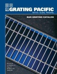 BAR GRATING CATALOG - Grating Pacific