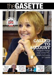 Gasette This issue - Government Finance Profession - HM Treasury