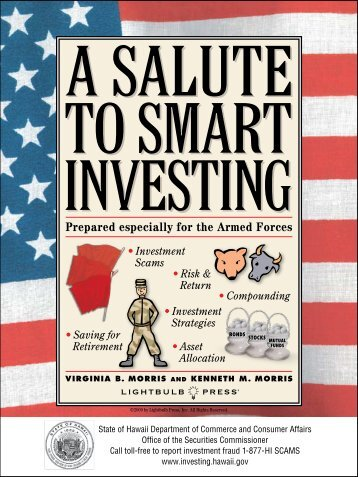 A Salute to Smart Investing - Hawaii.gov