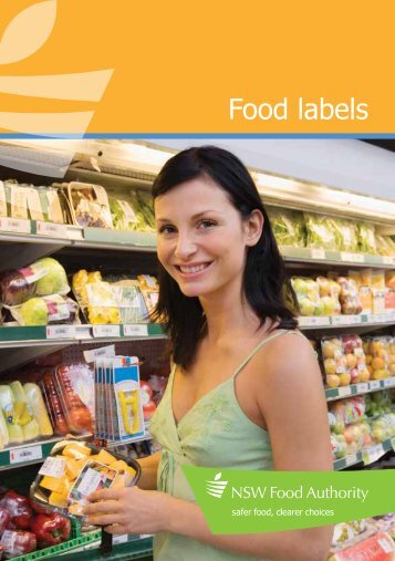 Brochure: Food labels - NSW Food Authority