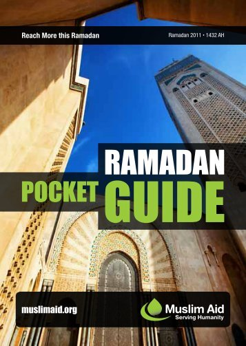 Ramadan Pocket Guide - Muslim Aid