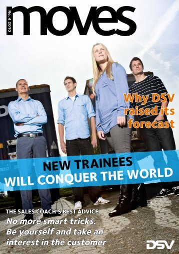 New traiNees will coNquer the world - DSV