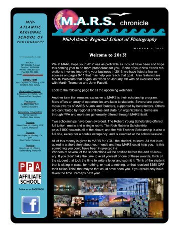 Winter 2013 Edition - Mid-Atlantic Regional School of Professional ...