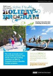 Active & Healthy - Gold Coast Parks
