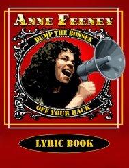 Lyric Book - Anne Feeney