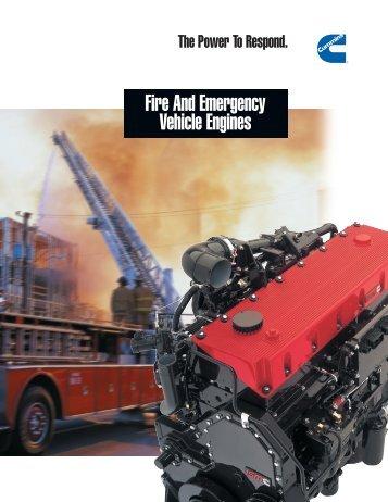 Fire And Emergency Vehicle Engines - Cummins Atlantic