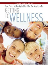 Getting to Wellness - National School Boards Association