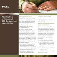 What You Need to Know About IEEE Standards and Indemnification