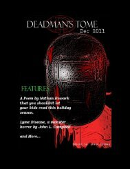 Table of Contents - Deadman's Tome