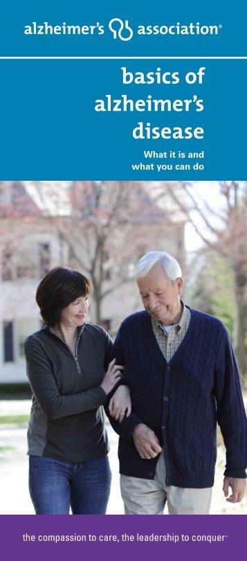 Basics Of Alzheimer's Disease - Alzheimer's Association