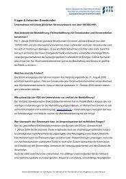 Fragen & Antworten Strommarktöffnung Grosskunden
