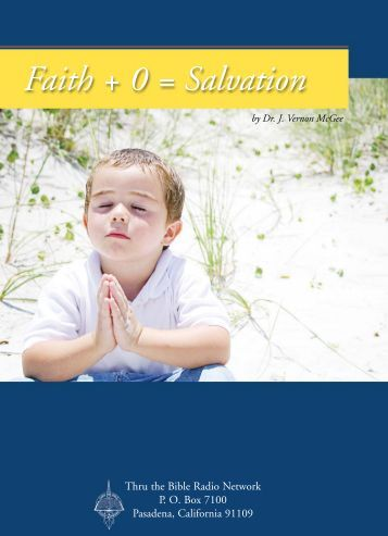Faith + 0 = Salvation - HopeFaithPrayer