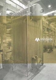 Mimsan Industrial Boilers 2012 EN - Mimsan Grup