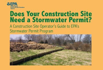Does Your Construction Site Need a Stormwater Permit? A ...