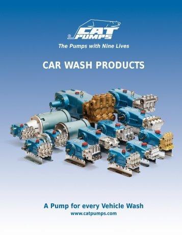 CAR WASH PRODUCTS - Pumps & Pressure Inc.