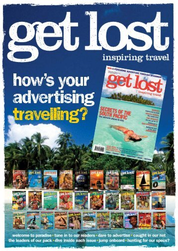 Tune In To Our Readers Dare To Advertise - Get Lost Magazine